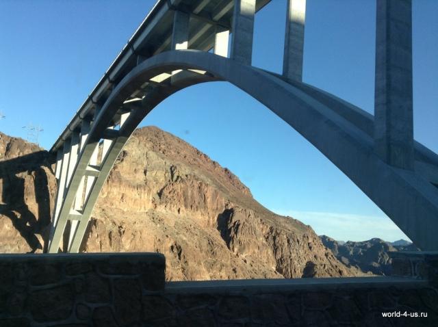 Мост у дамбы Гувера