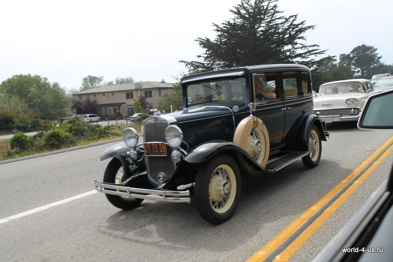 Пробег старинных машин
