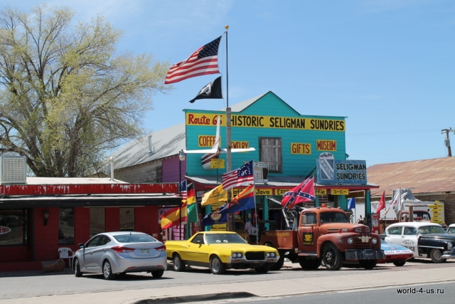Route 66 view