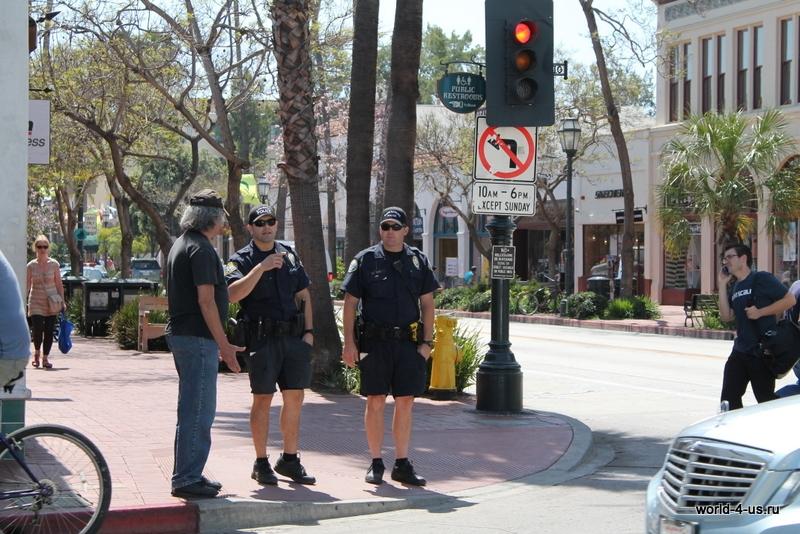 Полицейские в Санта-Барбаре