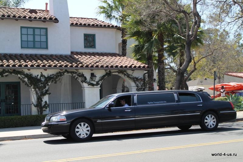 Лимузин в Санта-Барбаре